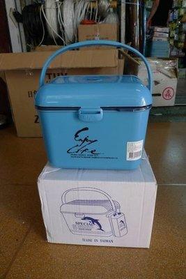 附發票*東北五金*高品質 隨身冰箱 釣魚冰箱 行動冰箱 保冰箱 保溫箱 5公升 優惠特價中!