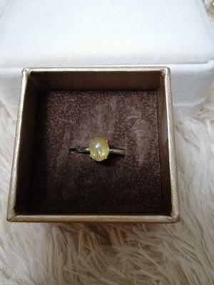 天然發晶活口戒指Ring