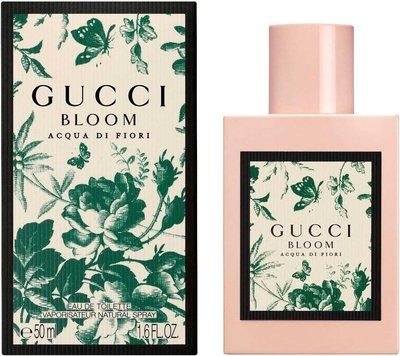 Gucci Bloom Acqua Di Fiori EDT Eau De Toilette 古馳舞花之水淡香水 50ml