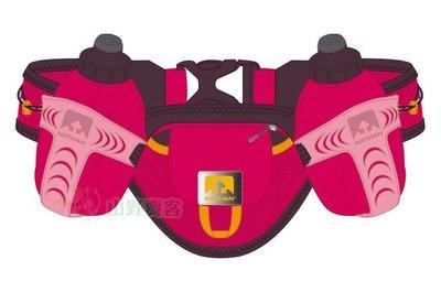 【山野賣客】NATHAN Tral Mix雙水壺腰包(紅) 跑步腰包 運動腰包 NA4625NSC