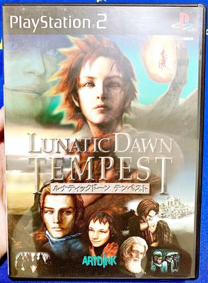 幸運小兔 PS2遊戲 PS2 俠客遊 暴風雨篇 LUNATIC DAWN TEMPEST PlayStation2 E3
