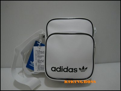 【喬治城】ADIDAS Mini Vintage Messenger 側背包 肩包 (白色)DV2491