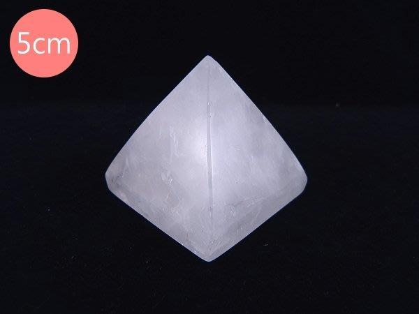 ☆寶峻晶石館☆新貨到~能量塔 白水晶金字塔 提高正能量 5cm
