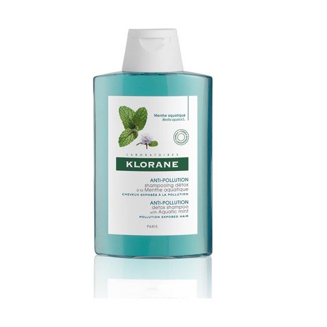 蔻蘿蘭Klorane 涼感淨化洗髮精100ml 2019新上市 公司貨中文標 2021/06到期