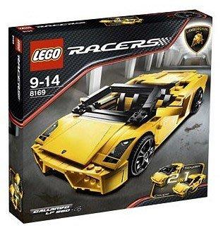 LEGO 8169 Lamborghini Gallardo LP 560-4 未拆盒