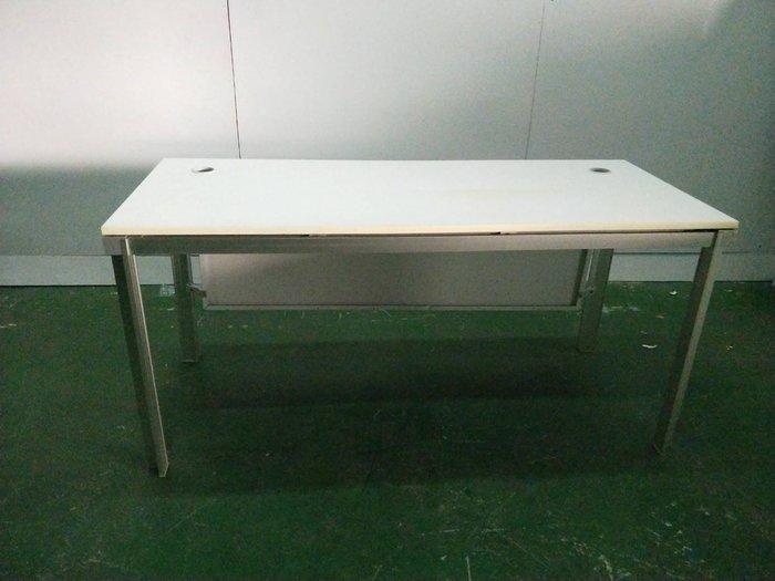 二手家具全省估價(大台北冠均 新五店)二手貨中心--簡約清晰辦公桌 電腦桌 書桌 工作桌 OF-9071010