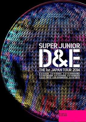 東海銀赫 SUPER JUNIOR D&E THE 1st JAPAN TOUR 2014 日本版DVD全新未拆Oppa
