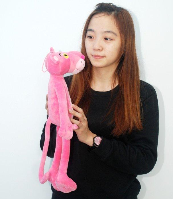 可愛頑皮豹娃娃~高50cm~粉紅豹~絨毛玩偶~達浪布偶~超可愛人氣商品~網路熱銷