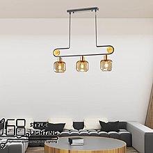 【168 Lighting】對稱表現《木藝吊燈》GD 20237-3