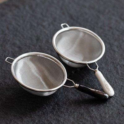 中式茶具 配件工具 日式茶漏 304不銹鋼茶濾手工過濾網茶隔漏斗創意陶瓷功夫茶具配件