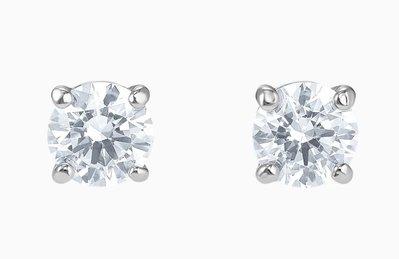SWAROVSKI 施華洛世奇水晶耳環 單顆水晶耳環 Attract水晶耳環
