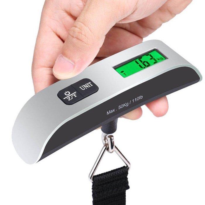 宙斯健身網-行李秤 旅行秤 秤重器 電子秤 50KG 附電池