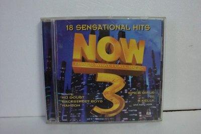 【銅板交易】二手原版CD♥Now 3 / 18 Sensational Hits--