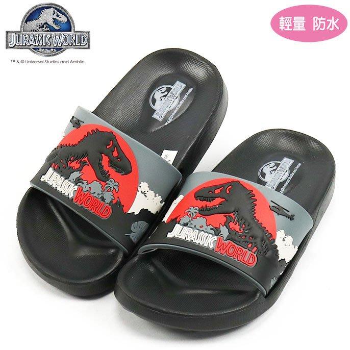 童鞋/侏儸紀恐龍造型輕量防水拖鞋.(W74796)黑25-32公分