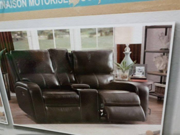 【有顆蕃茄公司貨】 Cheers皮革電動躺椅 雙人 (展示品)