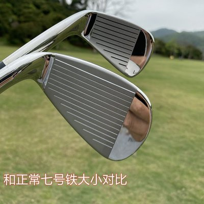 高爾夫球杆日本原裝 LEEWAY高爾夫練習桿 7號球桿 七號鐵桿 車載防身 鋼桿身
