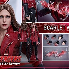 旺角店鋪現貨 日版 Hottoys MMS357 復仇者聯盟 2 Avengers 2 緋紅女巫 Scarlet Witch
