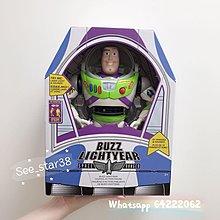 美國迪士尼 Buzz Lightyear Talking Figure - 12''inch 巴斯光年發聲玩具 2019年版