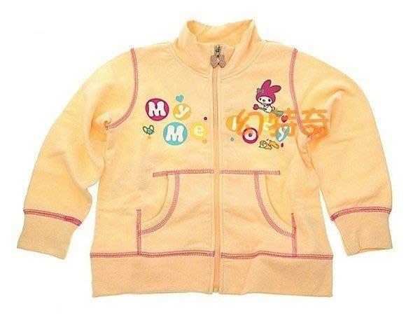 現貨出清👍日本正版美樂蒂長袖外套100%純棉 100公分和110公分 202951/203019【玩之內】