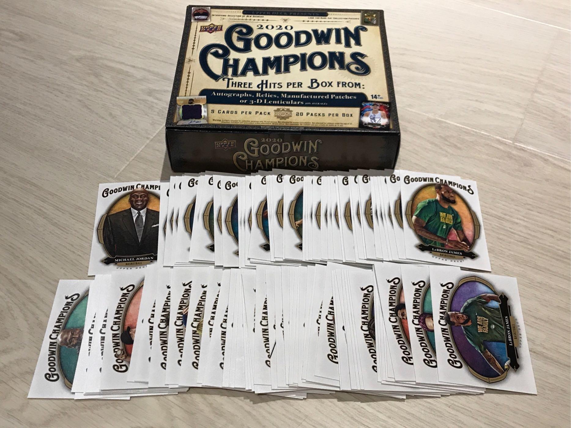 2020 Goodwin 全套普卡 (編號1-100)