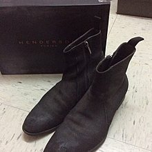 Henderson suede boots shoes Italy Narrative