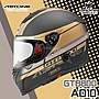 ASTONE 安全帽 GTB800 AO10 消光黑金 內鏡 ...