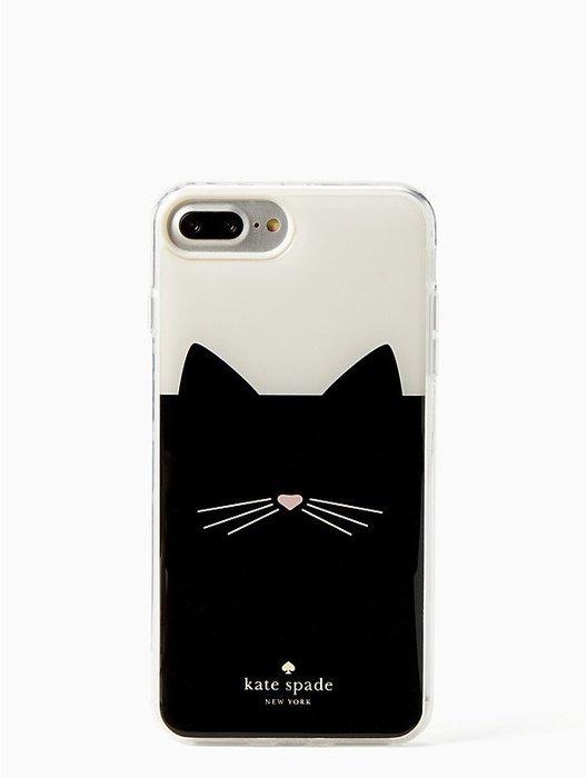 【MJS BOUTIQUE】Kate Spade New York iPhone 7/8 Plus 貓咪手機保護殼保護套