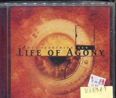 *真音樂* LIFE OF AGONY / SOUL SEARCHING SUN 二手 K26787