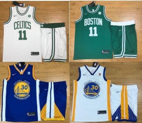 美國專櫃代購正品 NBA騎士隊籃球服總決賽奪冠球衣冠軍詹姆斯23號 歐文2號 球衣黑色T恤 湯普森9號 庫裏短袖球衣套裝