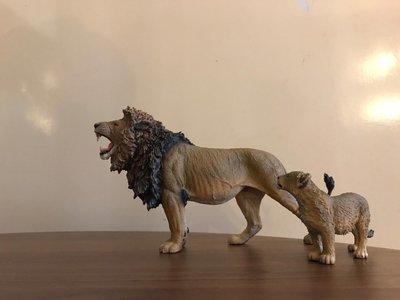 1:12 獅子 仿真動物模型 雄獅 獅子王 lion king