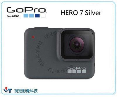 ~視冠台中~ GOPRO HERO7 Silver 銀版 運動攝影機 極限運動 觸控螢幕 4K 公司貨 分期 免運