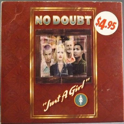 CD NO DOUBT-JUST A GIRL~MADE IN THE EC~CH~