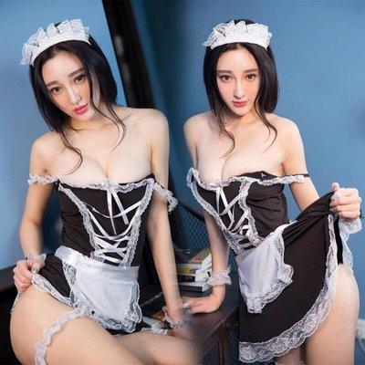 情趣內衣性感仆裝激情用品女傭制服夜店