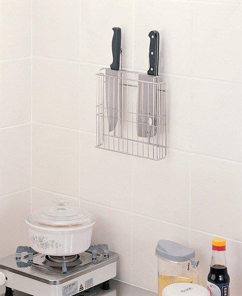☆成志金屬☆S-38-1B不銹鋼刀架可在櫥櫃內使用,另有刀具砧板或鍋蓋兩用架