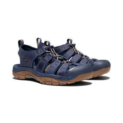 =CodE= KEEN NEWPORT ATV SANDALS 彈性綁繩護趾防水包頭涼鞋(深藍)1018790 拖鞋 男