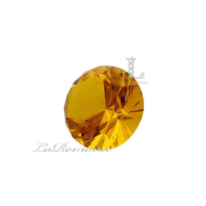【芮洛蔓 La Romance】璀璨鑽型水晶鑽–5cm / 招財 / 聚財 / 幸運色