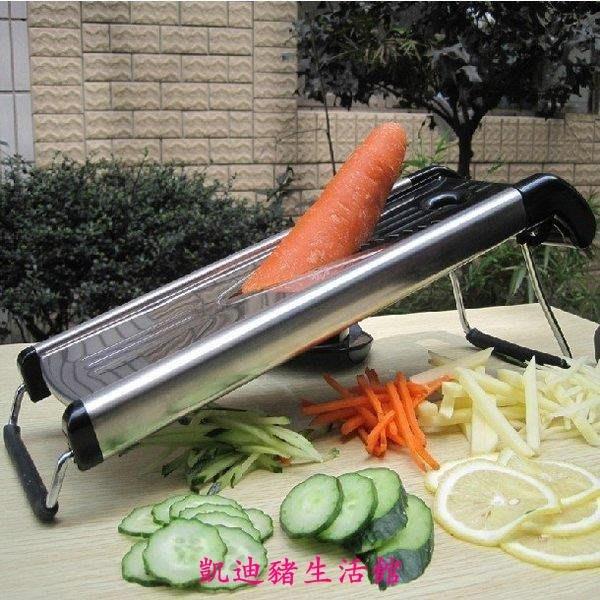 【凱迪豬生活館】廚房用品土豆絲切絲器 切條 切片器 刨絲器 切菜機 多功能切菜器KTZ-200980
