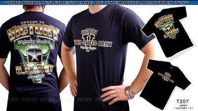 【ARMYGO】美國 7.62 軍事T恤 - 陸軍系列 -ARMY 'VICTORY-V'