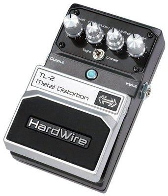 ☆ 唐尼樂器︵☆原廠公司貨保固 Digitech Hardwire TL-2 Metal Distortion 電吉他金屬破音效果器