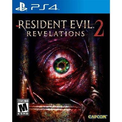 (現貨全新) PS4 惡靈古堡:啟示 2 中英日文美版 Resident Evil Revelations 2