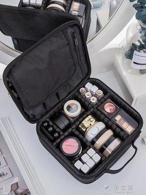 日和生活館 化妝包化妝包女大容量多功能便攜INS風網紅旅行化妝箱專業化妝師跟妝包YYSS686