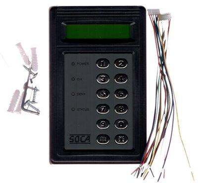 SOCA ST-660SMH 門禁刷卡機   最新版本無法拷貝規格