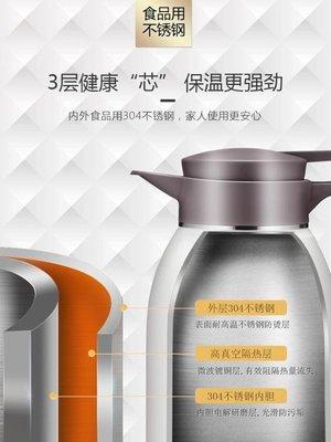 家用保溫壺不銹鋼戶外大容量車載便攜大號保溫瓶熱水瓶開水瓶 極客玩家