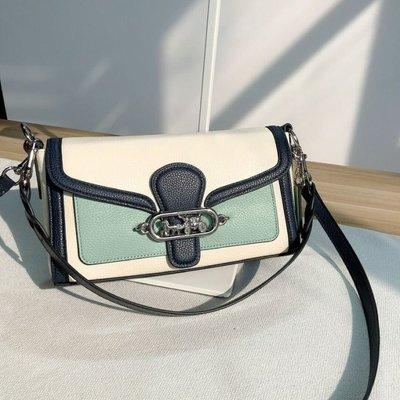 ✨ 美國代購✨特賣 COACH 2341 Jade撞色牛皮 小號酒神包 手提包 單肩包 斜背包(特賣限量)