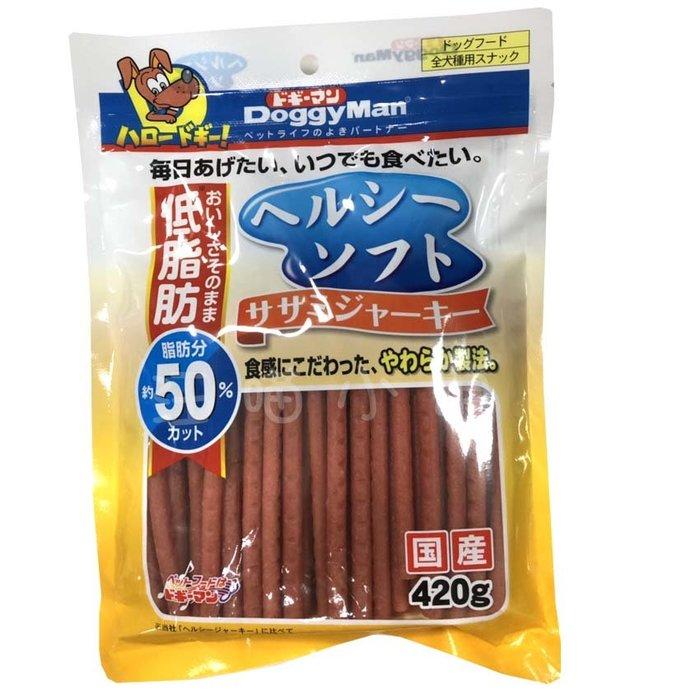 ☆汪喵小舖2店☆ 日本 Doggyman 犬用健康低脂雞肉條420克 // 長支、短支任選