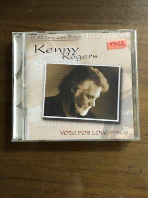 *還有唱片三館*KENNY ROGERS / VOTE FOR LOVE 二手 YY0680