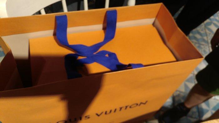 (全新現貨) LV 101專櫃6月購 大磁扣盒/大紙盒原廠盒40*33*20cm+大紙袋橘色 Louis Vuitton