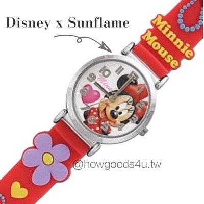 日本 Sunflame 迪士尼 兒童手錶 米妮