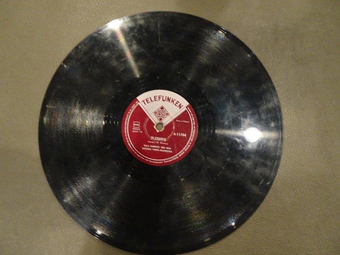 【卡卡頌 歐洲跳蚤市場/歐洲古董】TELEFUNKEN_THE OLDTIMERS 十吋 78轉 西洋 黑膠唱片