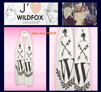 Wildfox Couture 美國 【現貨】 圍巾 Prep School Scarf